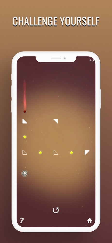Meteorite Ball Reflection And Recoil Brain Teaser Android Game Image 4