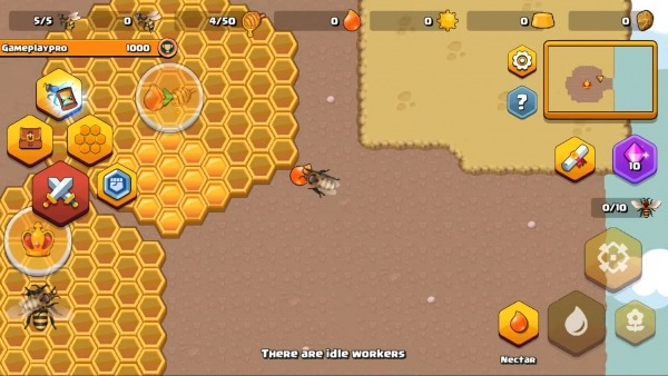 Pocket Bees: Colony Simulator Android Game Image 2