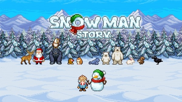 Snowman Story Android Game Image 1