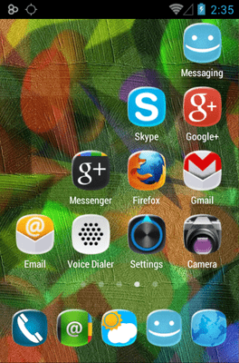 Shina Icon Pack Android Theme Image 3
