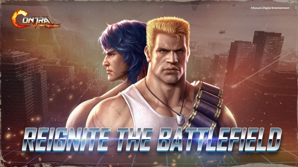 Contra Returns Android Game Image 1