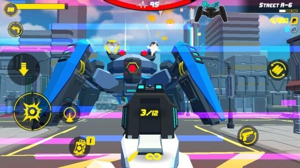 GunFire : City Hero Android Game Image 1