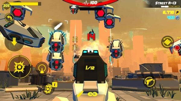 GunFire : City Hero Android Game Image 2