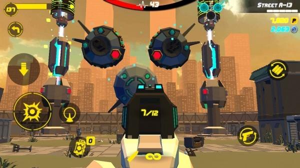 GunFire : City Hero Android Game Image 3