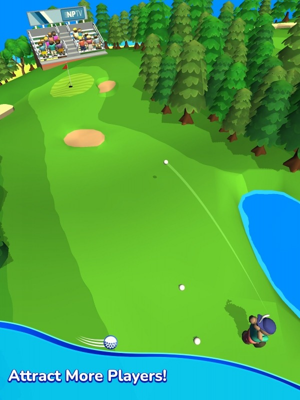 Idle Golf Club Manager Tycoon Android Game Image 2