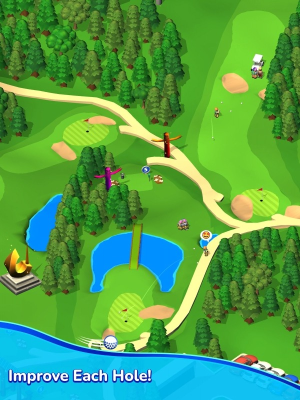 Idle Golf Club Manager Tycoon Android Game Image 3