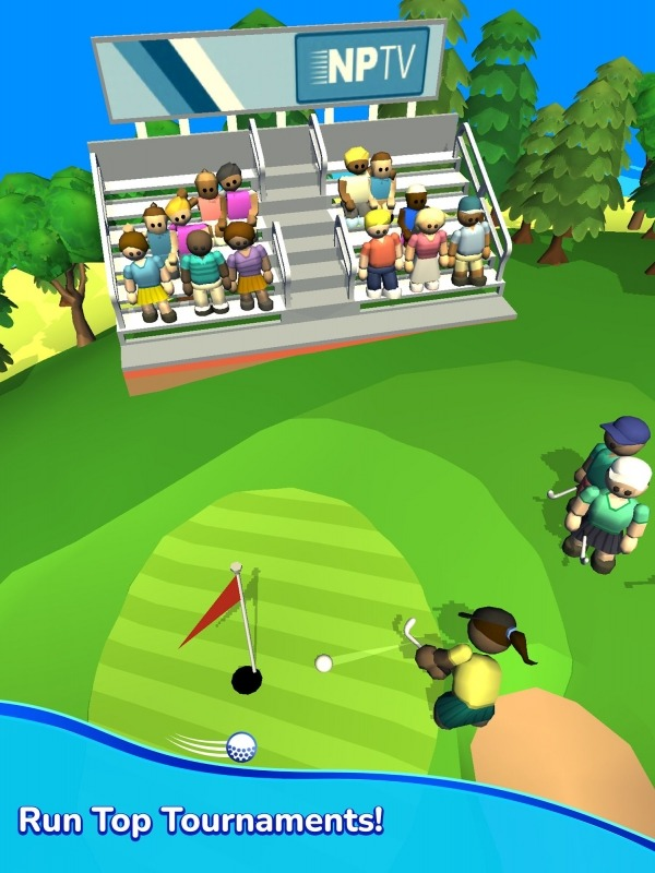 Idle Golf Club Manager Tycoon Android Game Image 4