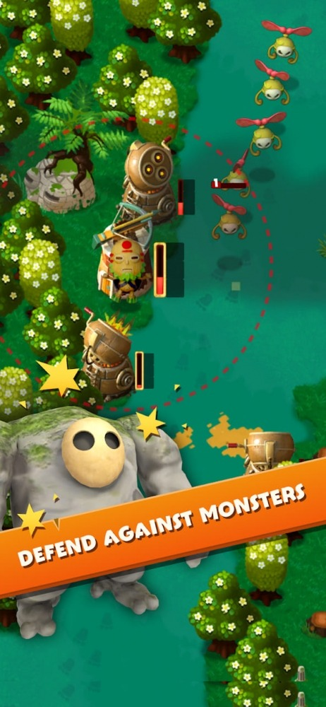 PixelJunk Monsters Android Game Image 1