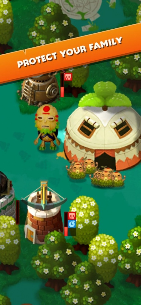 PixelJunk Monsters Android Game Image 2