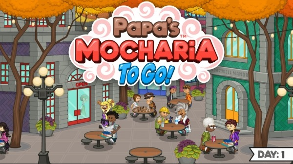 Papa's Mocharia To Go! Android Game Image 1