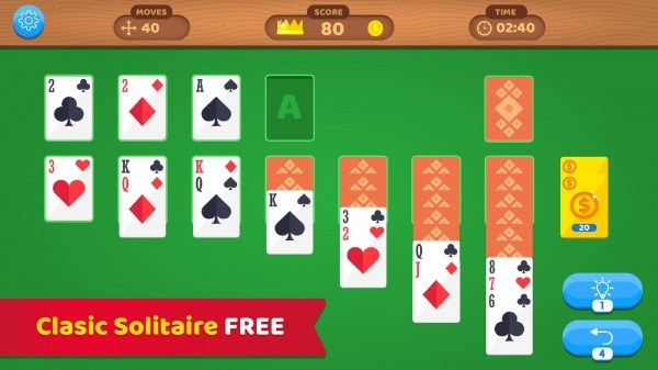 Solitaire Master VS: Classic Card Game Relax Android Game Image 2