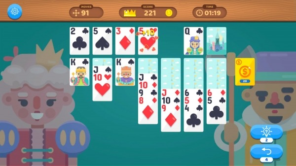 Solitaire Master VS: Classic Card Game Relax Android Game Image 3