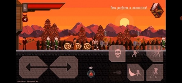Draconian: Action Platformer 2D Android Game Image 1