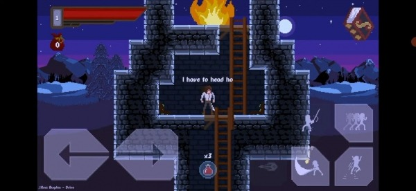 Draconian: Action Platformer 2D Android Game Image 2