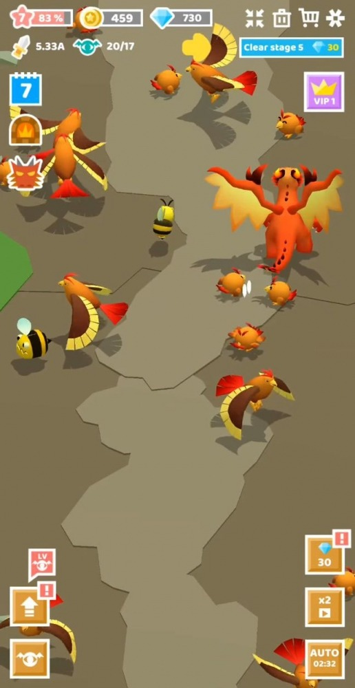 Merge Monster Evolution: Summon & Merge RPG Android Game Image 3