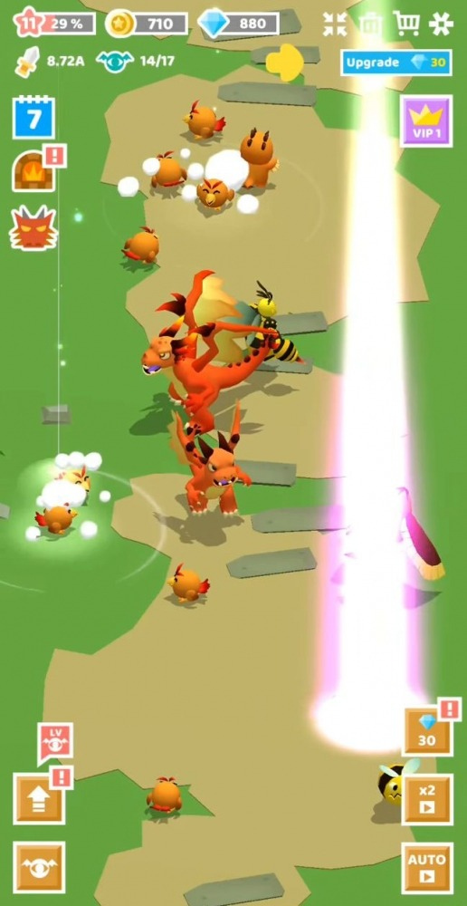 Merge Monster Evolution: Summon & Merge RPG Android Game Image 4