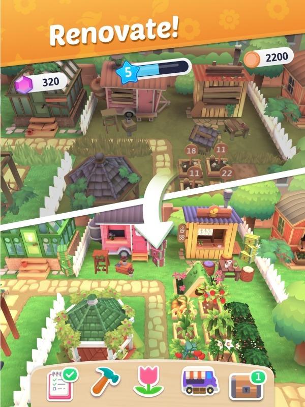 Plantopia - Merge Garden Android Game Image 1