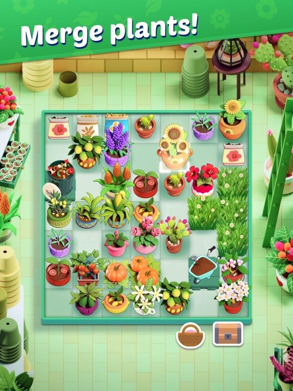 Plantopia - Merge Garden Android Game Image 3