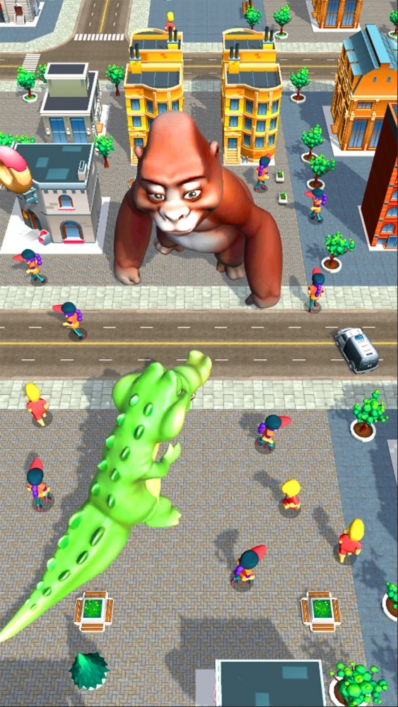 Rampage : Giant Monsters Android Game Image 1