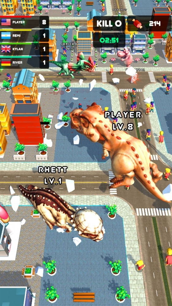 Rampage : Giant Monsters Android Game Image 2