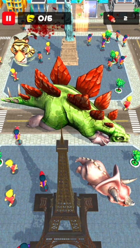 Rampage : Giant Monsters Android Game Image 3