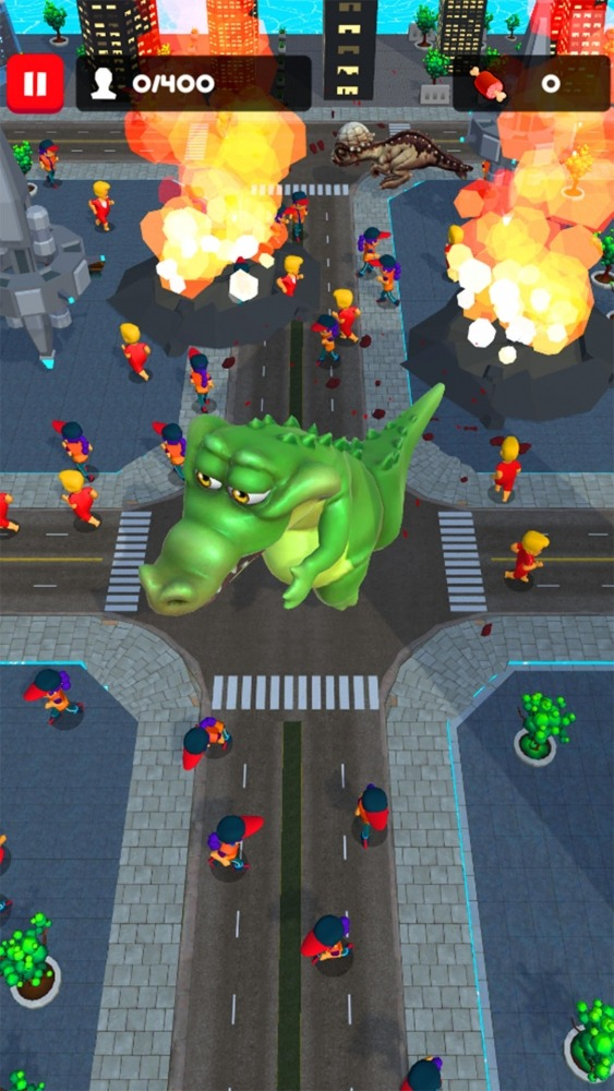 Rampage : Giant Monsters Android Game Image 4