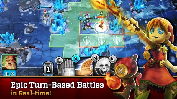 Heroes Of Twilight Android Game Image 2