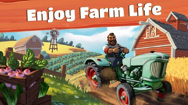 Big Farm: Tractor Dash Android Game Image 1