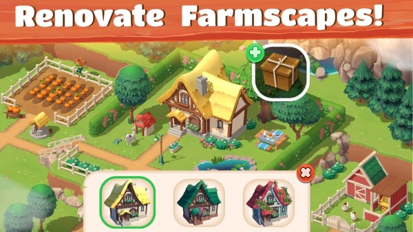 Big Farm: Tractor Dash Android Game Image 2