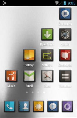 DIMIDIUM Icon Pack Android Theme Image 3