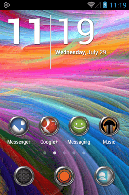 Krom Icon Pack Android Theme Image 1