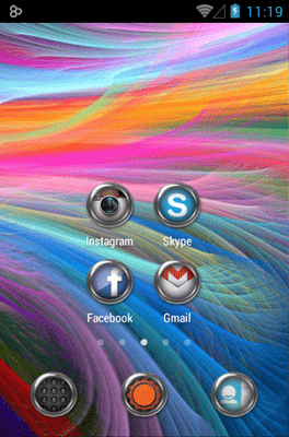 Krom Icon Pack Android Theme Image 2