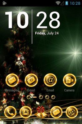 BlackXmas Icon Pack Android Theme Image 1