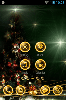 BlackXmas Icon Pack Android Theme Image 2