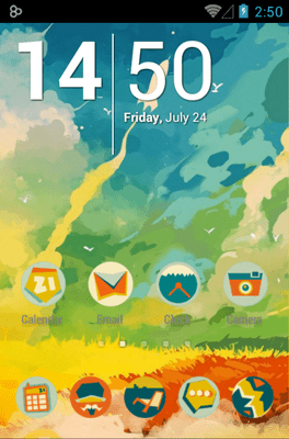 Boy Icon Pack Android Theme Image 1