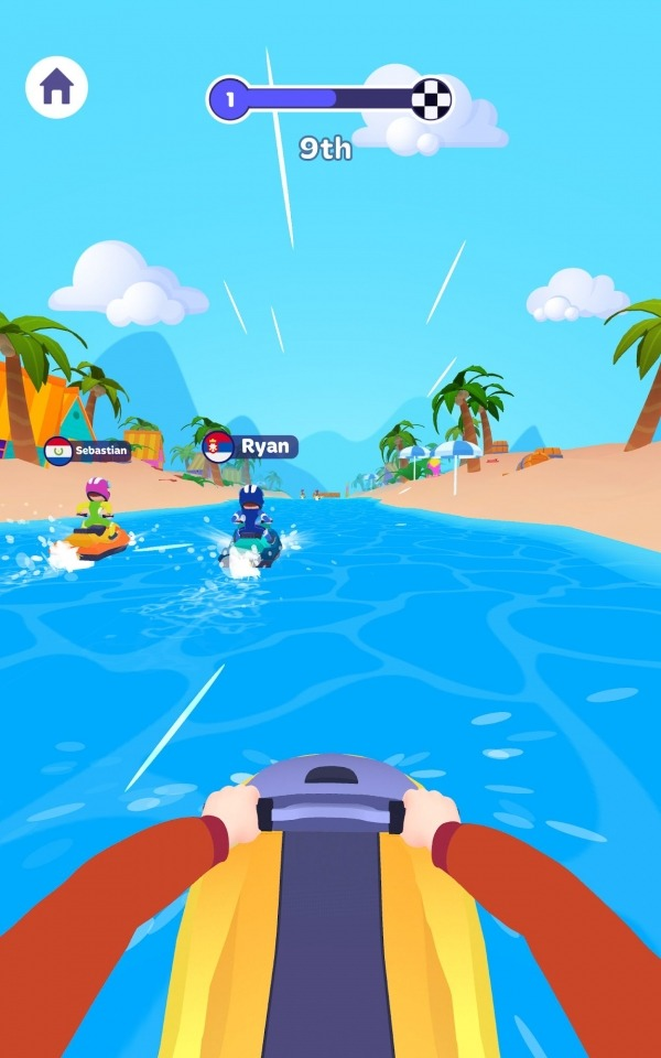 Boat Racer! Android Game Image 1