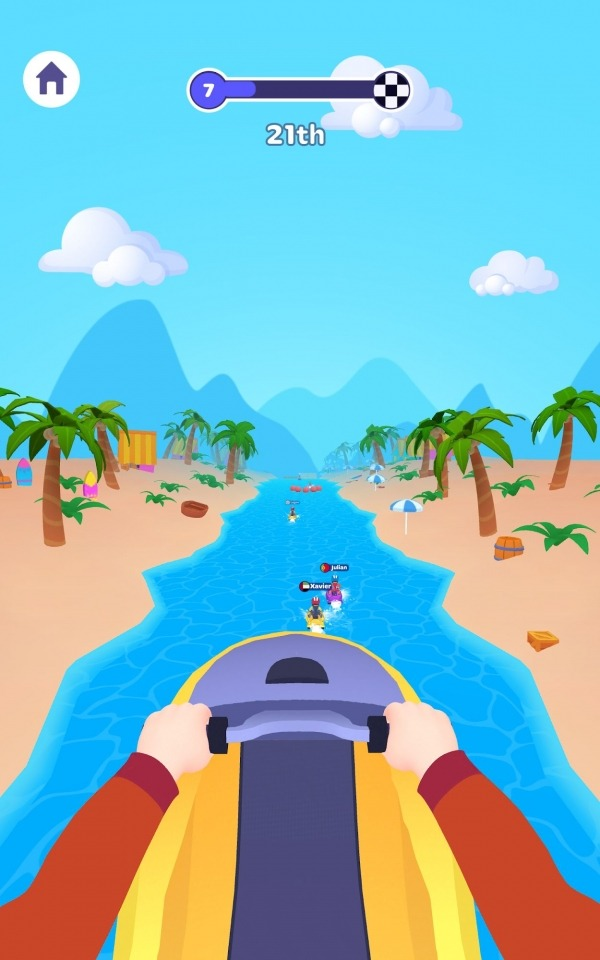 Boat Racer! Android Game Image 2