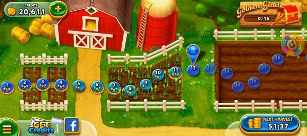 Solitaire - Harvest Day Android Game Image 1