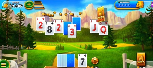 Solitaire - Harvest Day Android Game Image 3