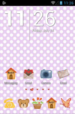 Love House Icon Pack Android Theme Image 1