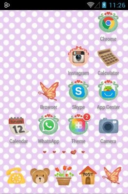 Love House Icon Pack Android Theme Image 3