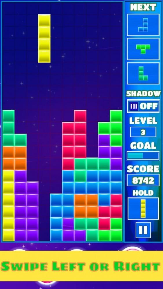 Tetra Block Blitz Puzzle Android Game Image 2