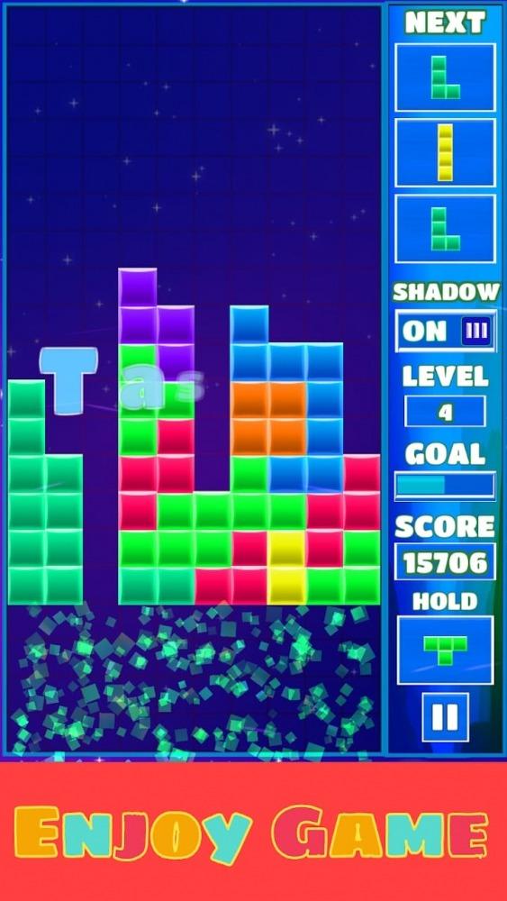 Tetra Block Blitz Puzzle Android Game Image 3