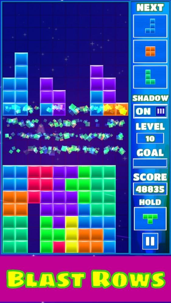 Tetra Block Blitz Puzzle Android Game Image 4