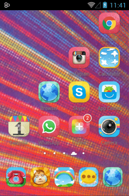 Amusing Icon Pack Android Theme Image 3