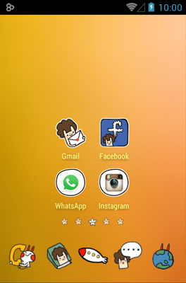 Outer Space Icon Pack Android Theme Image 2