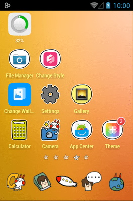 Outer Space Icon Pack Android Theme Image 3