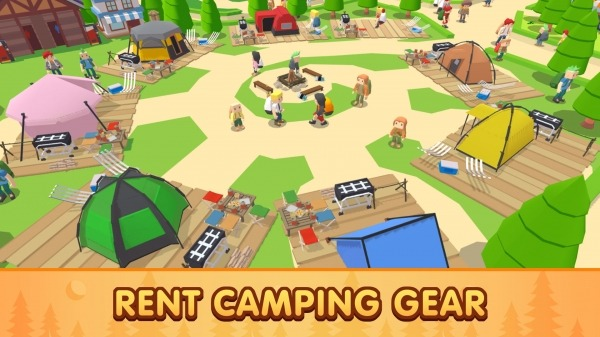 Campground Tycoon Android Game Image 1