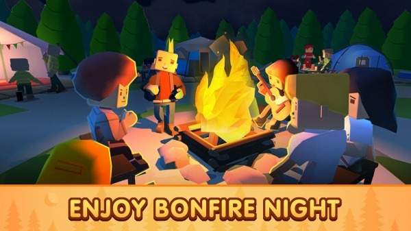 Campground Tycoon Android Game Image 2