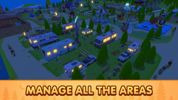 Campground Tycoon Android Game Image 3